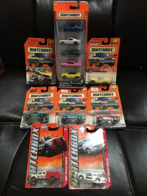 Mint on Card - Matchbox Cars - Everything for One Price