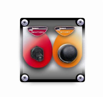 Purchase LONGACRE 44801 Start / Ignition Panel with WP switch covers motorcycle in Las Vegas, Nevada, United States, for US $33.90
