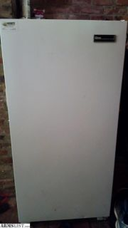 For Sale/Trade: 14 cubic foot upright freezer.