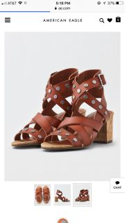 Brand New Block Heels from American Eagle