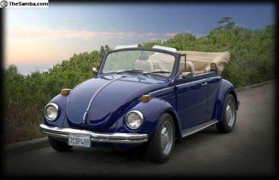 1971 Super Beetle Convertible