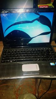 Top o the line HP Pavilion dv4 Broken Screen STILL WORKS GREAT ON Extra Monitor NO BATTERY BUT WORKS FINE OFF CORD Premium Altec Lansing Spe
