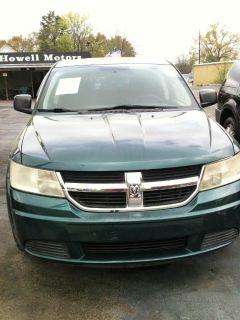 2009 Dodge Journey SE (Green,Dark)