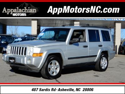 2006 Jeep Commander Base (Silver)