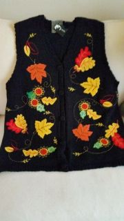 NEW Fall Holiday vest