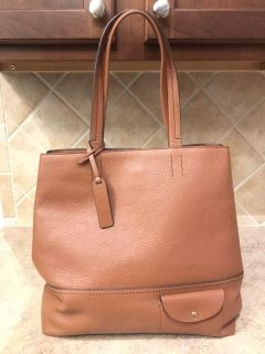 J. Crew All Day Leather Tote