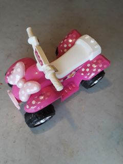 Minnie mouse power wheels