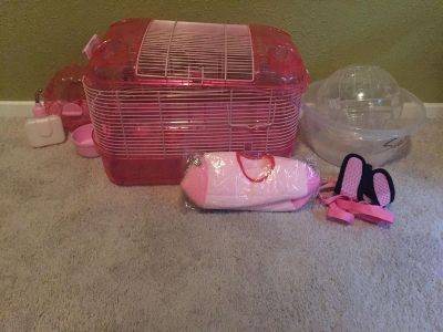 Everything pack your hamster, everything new condition