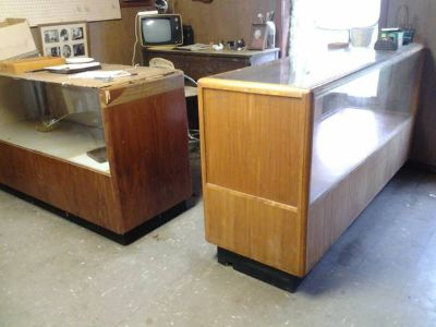 Wooden Display Cases  Work Table