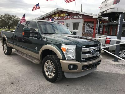 2011 Ford RSX King Ranch (Green)