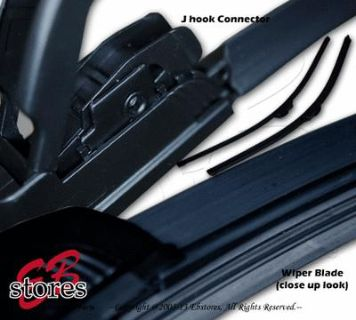 "Buy Set of 2 J Hook Bracketless Wiper Blades 28"" Driver Side & 17"" Passenger Side motorcycle in La Puente, California, US, for US $13.95"