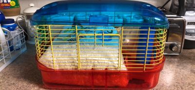 Hamster cage $25.00