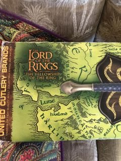 Lord of the Rings Glamdring Sword