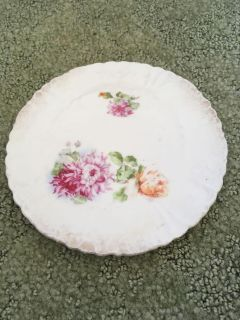 small Decorative Flower Plate
