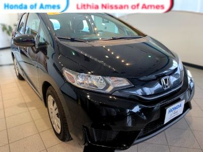 2015 Honda Fit LX (Crystal Black Pearl)