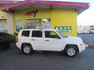 2007 Jeep Patriot Sport (Stone White)