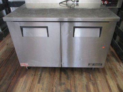 True TWT-48F Two Door Worktop Freezer RTR#7121852-10