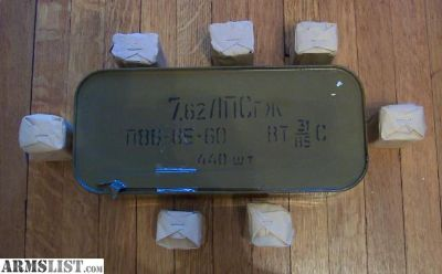 For Sale: Russian Surplus 7.62x54R Ammo