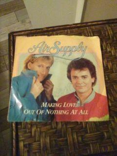 Air Supply 45 record