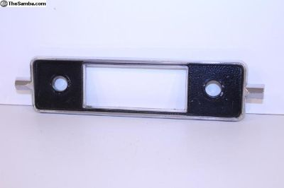 NOS 66-67 Bug Sapphire Radio Face Plate