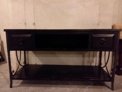 TV stand and DVD/storage and table