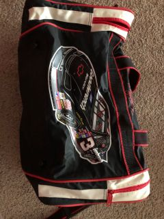 Dale Earnhardt duffle bag with extra zipper pockets