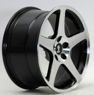 Buy AFS WHEELS 94-2004 Mustang 03 COBRA SVT MAC BLACK 18 X 9/10.5 02 01 99 98 97 96 motorcycle in Canoga Park, California, US, for US $775.00