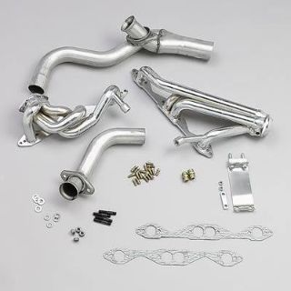 Sell BBK 1596 Headers Shorty Steel Chrome Chevy Pontiac Camaro Firebird 5.7L Pair motorcycle in Tallmadge, Ohio, US, for US $449.99