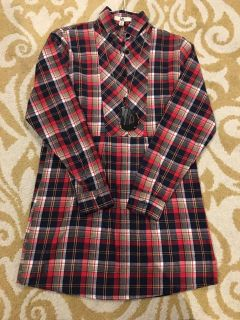 Boutique Flannel tunic and necklace