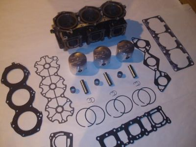 Purchase YAMAHA 1200 Top end rebuild Kit Piston GP XL XLT BLOCK EXCHANGE Cylinder PWC motorcycle in Orem, Utah, US, for US $439.99