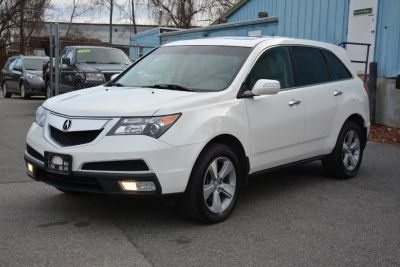 2012 Acura MDX Base (Bellanova White Pearl)