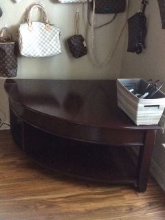 Corner coffee table,