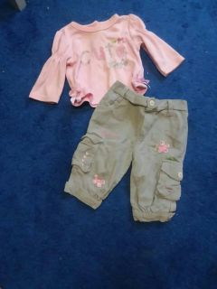 Size 3/6 Month Outfit
