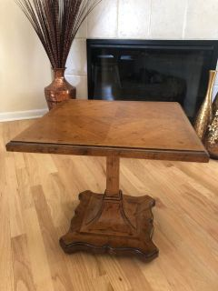 Vintage Pedestal Table from Drexel's Esperanto Collection- Circa 1960's