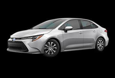 2020 Toyota Corolla Hybrid LE (Classic Silver Metallic)