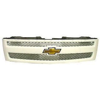 Find 07-11 Chevy Silverado 1500 Grille Summit White motorcycle in Braintree, Massachusetts, United States, for US $377.88