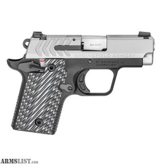 """For Sale: SPRINGFIELD 911 .380ACP 2.7"""" 7-SHOT SS G10 GRIPS"""