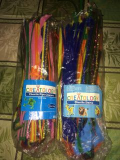 Large bag of pipe cleaners