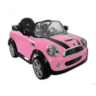 New- used once- 6V Mini Cooper Ride-On- still have receipt