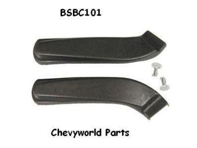 Sell 67 68 69 70 CAMARO BUCKET SEAT HINGE COVERS motorcycle in Bryant, Alabama, US, for US $23.95