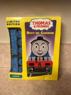Thomas the rain VHS with wooden train- never opened