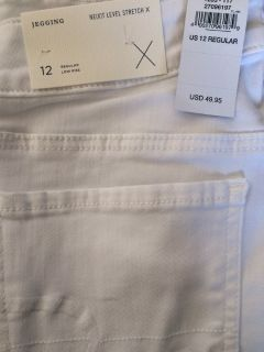 Brand New with Tags. AE NeXt Level Jegging Sparkle White Size 12