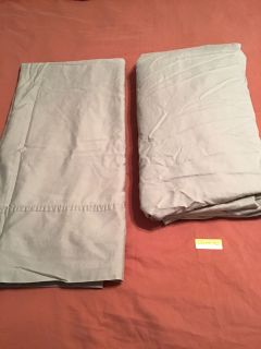 Queen Flat and Fitted Sheets. Light Sage Green. Good Used Condition. Pick up at Target in McCalla on Thursday s 5:15 - 6:00
