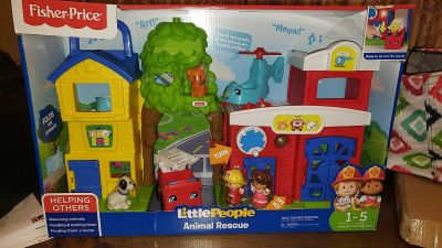 New in box Little People Animal Rescue