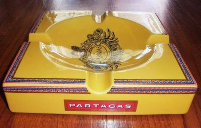 Vintage Partagas cigar ashtray in original box. Never used