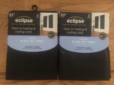 Two NWT blackout curtains