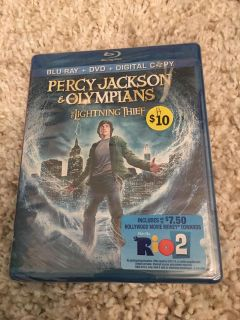 New ! Percy Jackson and the Olympians DVD/Blu-Ray $10 ppu