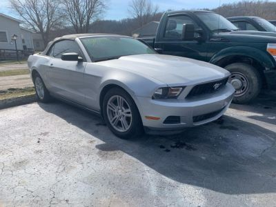 2012 Ford Mustang V6 (Silver)
