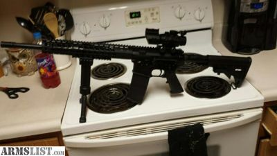 For Sale/Trade: Palmetto state AR 15 with extra