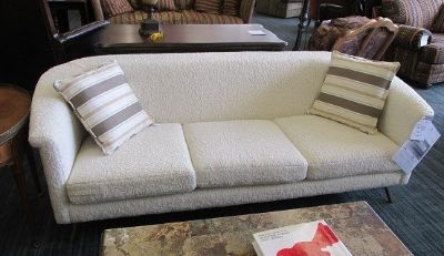 Faux Shearling Sofa by Crate and Barrel